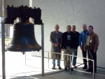 Liberty Bell with friends